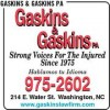 Washington NC Lawfirm – Gaskins and Gaskins – Personal Injury Lawyers