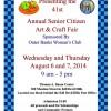 Annual Senior Citizen Art & Craft Fair