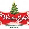 WinterLights at the Elizabethan Gardens in Manteo NC