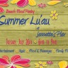 Summer Luau for the Beach Food Pantry
