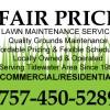 Fair Price Lawn Maintenance, Virginia Beach, Norfolk, Chesapeake