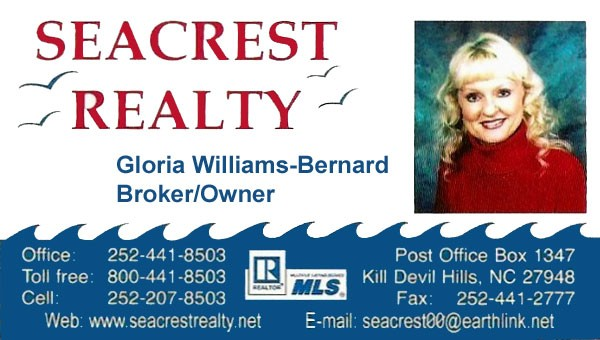 Seacrest Realty Broker, Gloria bernard