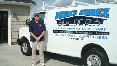Donald Riddick Builders of Hertford, NC