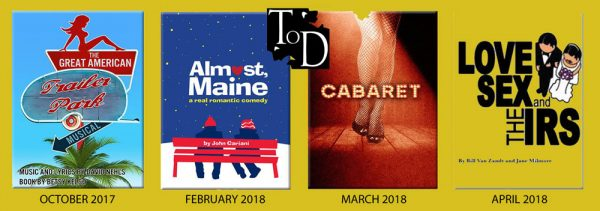 TOD Theatre Shows 2017