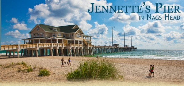 Jennettes Fishing Pier in Nags Head