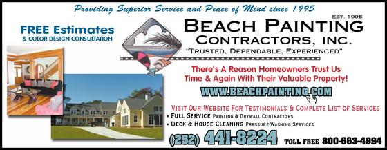 Outer Banks Commercial Painting Contractor