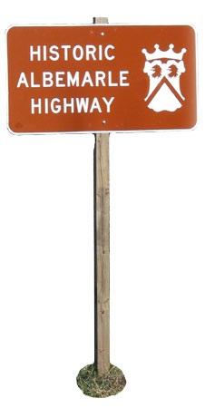 North Carolina Historic Albemarle Highway Tour