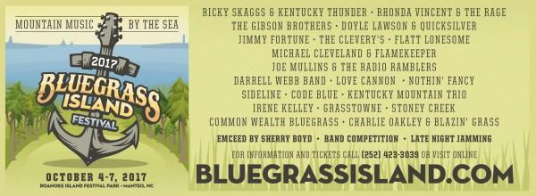 Bluegrass Island Festival 2017