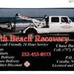 North Beach Recovery, Corolla Towing and roadside assistance