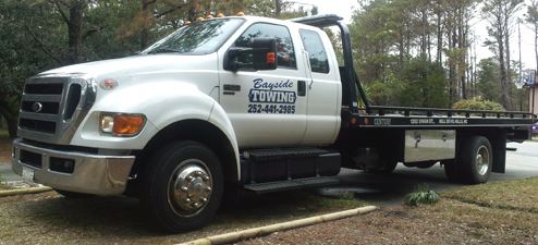Bayside Towing and Wrecker Service on the Outer Banks