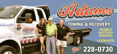 Adams Towing and Recovery Nags Head, NC