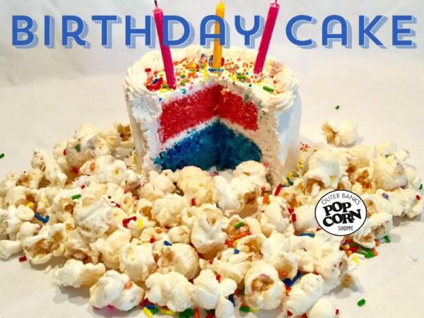obx birthday cake popcorn