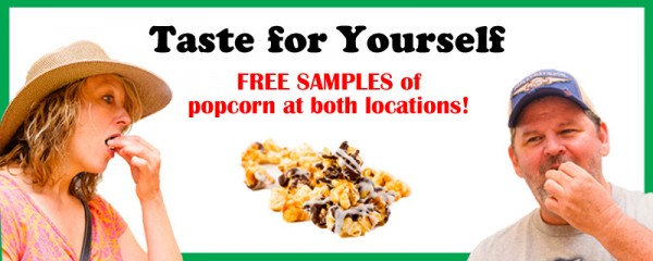 Tasty Popcorn Flavors, Gourmet Popcorn and Gifts
