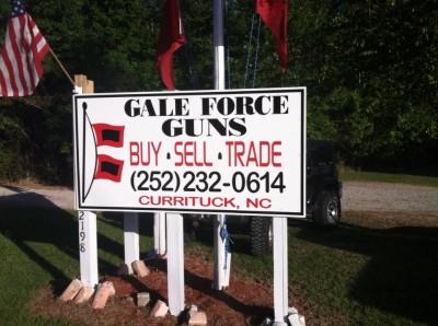 Gale Force Gun Shop in Moyock NC