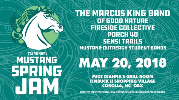 Mustang Spring Jam May 2018 a Corolla Concert venue