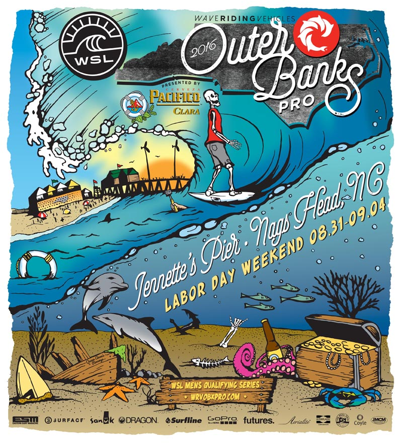 OBX Pro Competition 2016 at Jennettes Pier