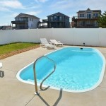 OBX Pool and Wood Fence Installation with Caribbean Pools and Spas
