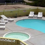 OBX Pool Installation with Caribbean Pools and Spas