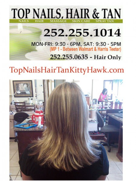 Top Nails Hair Salon in Kitty hawk
