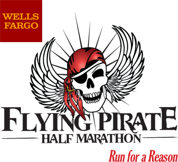 Flying Pirate Half Marathon & First Flight 5K April 16 & 17 , 2016