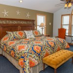 Kill Devil Hills Oceanfront Rental, Master Bedrooms, Blue Crush with Carolina Designs