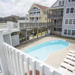 Kill Devil Hills Oceanfront Rental, Outdoor Pool, Blue Crush with Carolina Designs