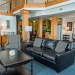 Kill Devil Hills Oceanfront Rental, Living room area, Blue Crush with Carolina Designs