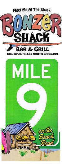 Bonzer Shack MP 9 Kill Devil Hills