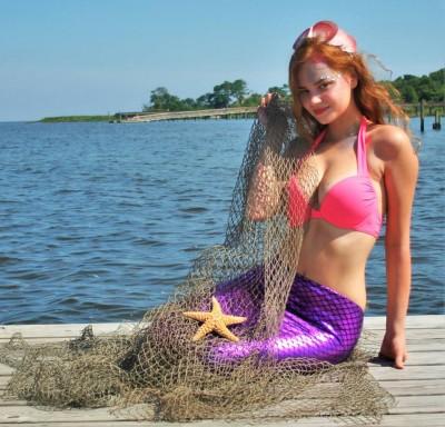 Beach Braids Be a Mermaid