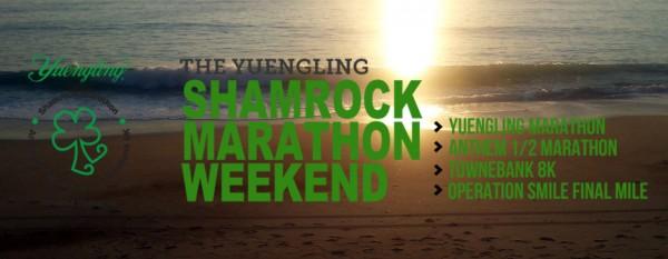 shamrock marathon 2017, Virginia beach