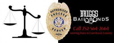 Dare County process server