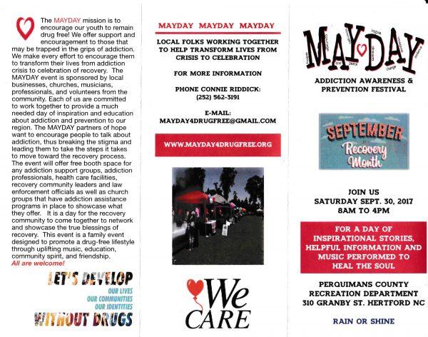 Mayday Festival 2017 flyer